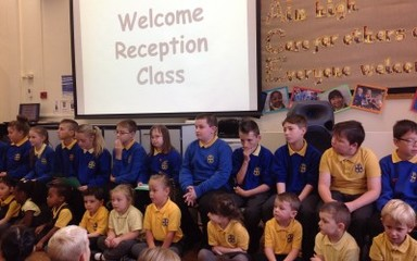 Welcome Assembly Reception Class: Friday 10th October
