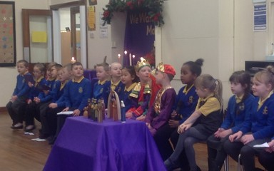 Advent Liturgy 4: Year 2 Friday 19th December 2014