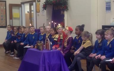 Advent Liturgy 4: Year 2 Friday 19th December 2014