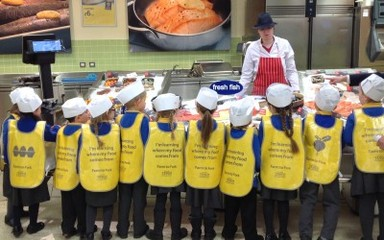 Reception Class at Farm to Fork!