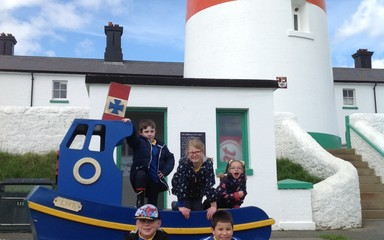Great fun at Souter Lighthouse!