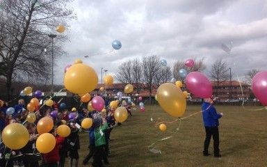 World Maths Day: Ks1 Balloon Race