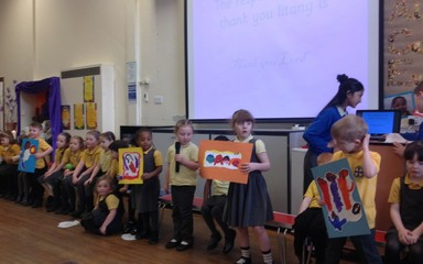 Reception Class Collective Worship 27.2.15