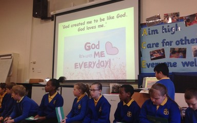 Year 5 Collective Worship Friday 9th October 2015