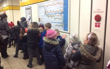A metro journey for Y1