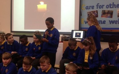 Year 6 Collective Worship 15th January 2016