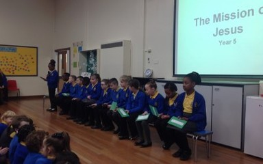 Year 5 Collective Worship: 22nd January 2016