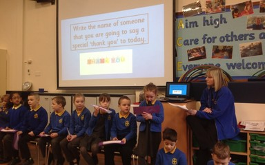 Year 2 Collective Worship: Friday 26th February 2016