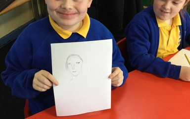 Budding Artists in Year 4!