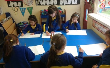 Drawing with Mr Quinn