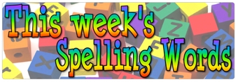 Spellings, 8th July 2016
