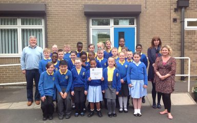 A fantastic award for our school