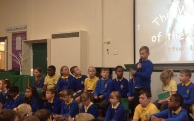 Year 5 Collective Worship: Friday 16th September 2016