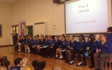 Year 6 Collective Worship 9th September 2016