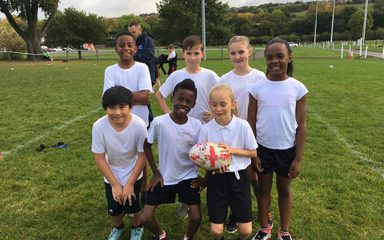 Tag Rugby for Year 5 and 6