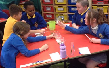 Which materials are soluble?