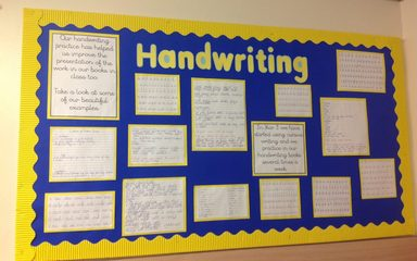Handwriting…….