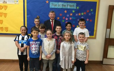A visit from our Local MP Ian Mearns
