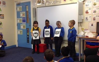Year 1 become Story tellers