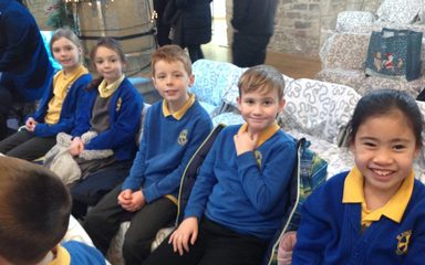 Year 3 at St Mary's Heritage Centre