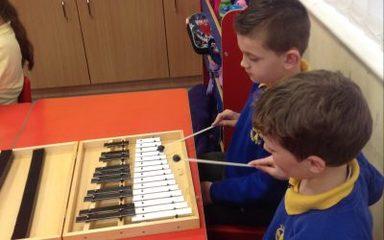Glockenspiel Music lesson