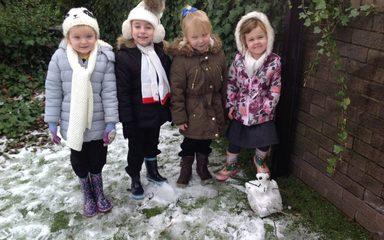 A Very Snowy Day!