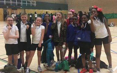 Bronze for our High 5 netball team….