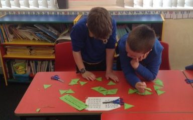 Maths Tarsia challenge in Year 3