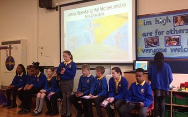Passion of the Christ Liturgy led by Year 5 and 6