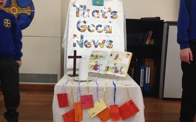 Collective Worship: Friday 5th May led by Reception Class