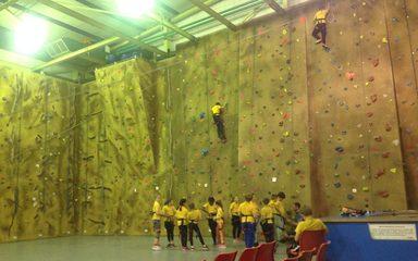 Simonside Climbing Wall