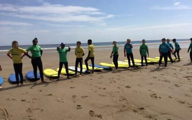 Surf School for Year 6