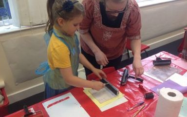 Juice Festival Events starring work created by Year 3 and Year 6