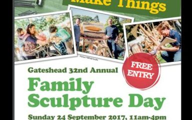 Family Sculpture Day: Sunday 24th September 2017