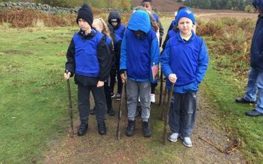 Year 6 visit to the Rothbury trenches