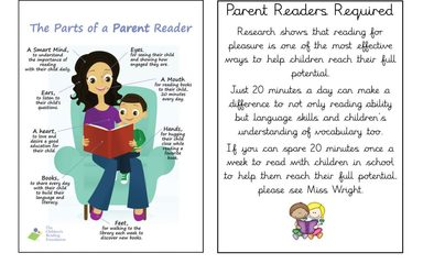 Parent Readers Required