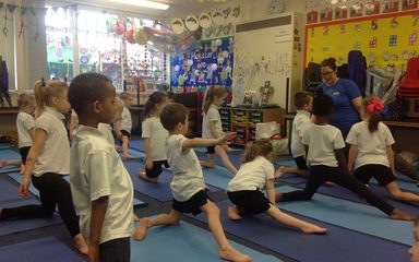 Yoga for Year 1