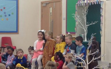 Friday 17th November: Collective Worship led by Reception Class
