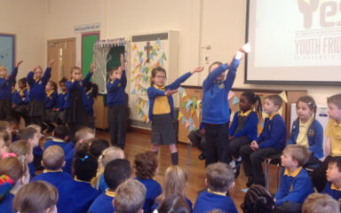 Youth Friday Collective Worship led by Year 2