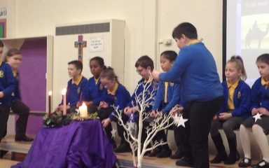 Advent Liturgy 3 led by Year 5: Friday 15th December 2017