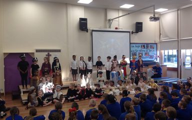 Straw and Order – a Christmas Performance