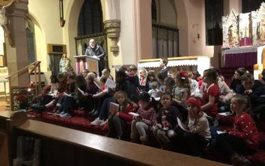 Carol Service at St Joseph's Church
