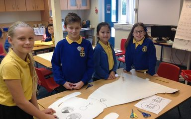 Designing our school scupltures