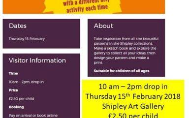 Half term Art and Cultural Events