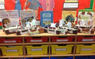 Viking Long Boats by y6