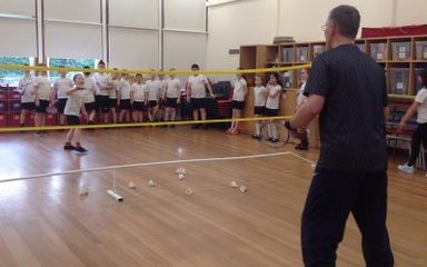 Year 5 Badminton sessions