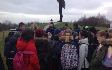 Angel of the North visit