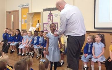 Friday 20th April Collective Worship led by Reception Class