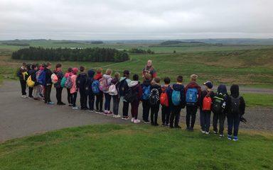 Y4 visit Hadrian's Wall