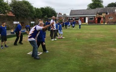 A taster session of bowling….
